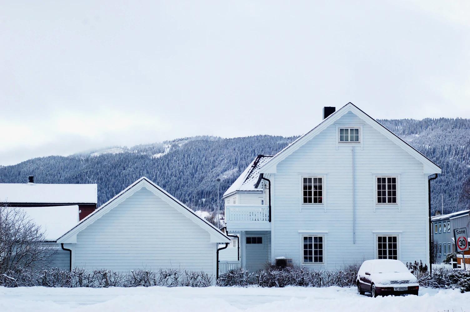 寒い冬も暖かい家