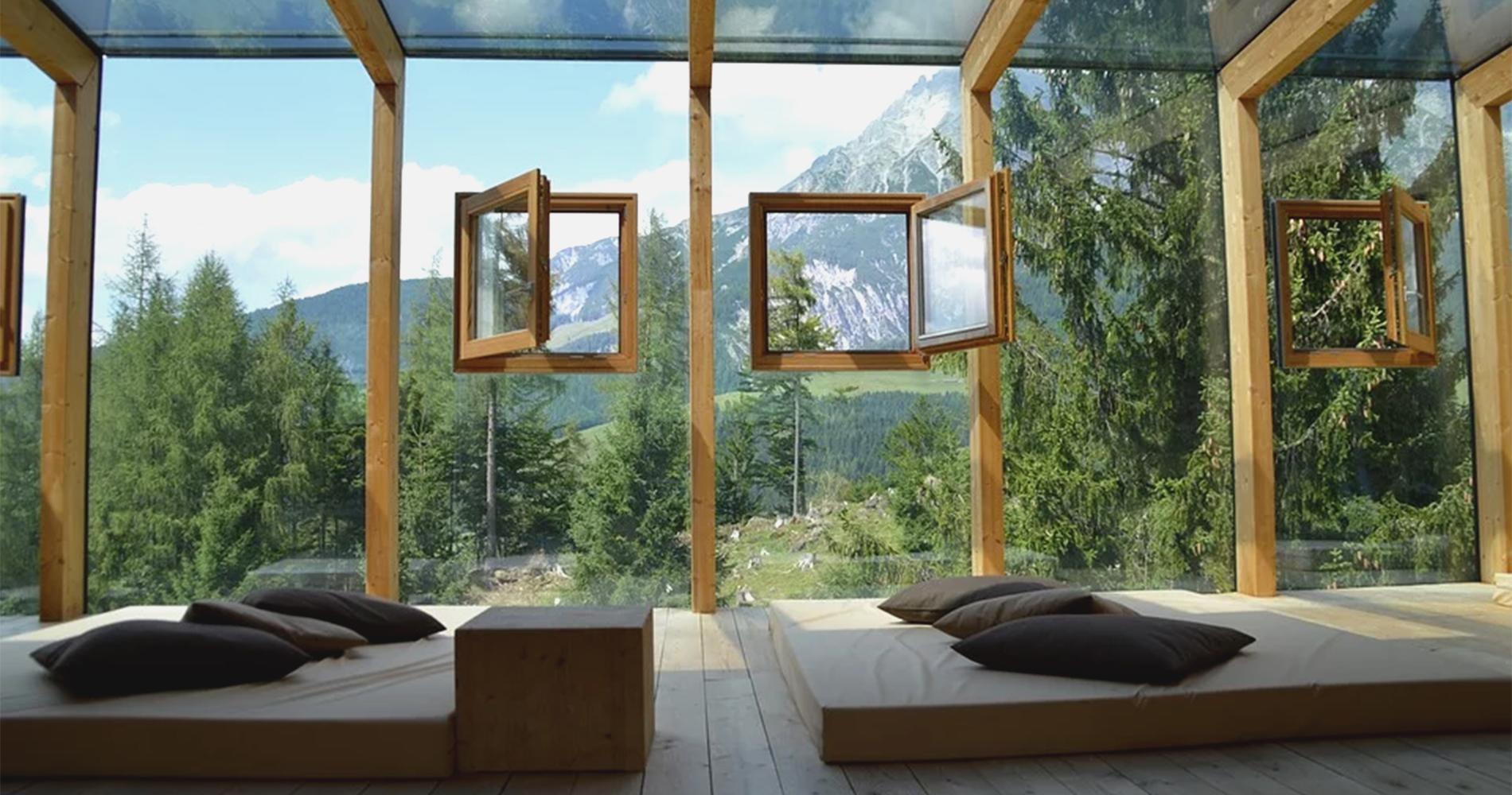 自然を楽しむ家